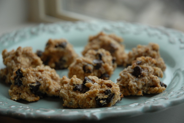 Guiltless chocolate chip cookies